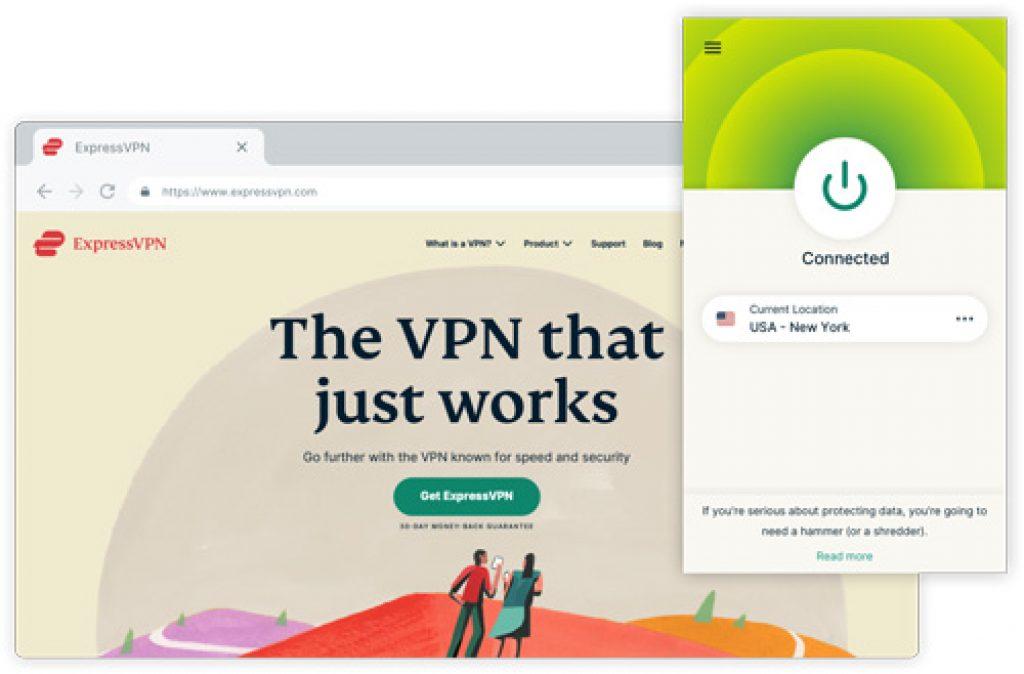 expressvpn extensiones del navegador