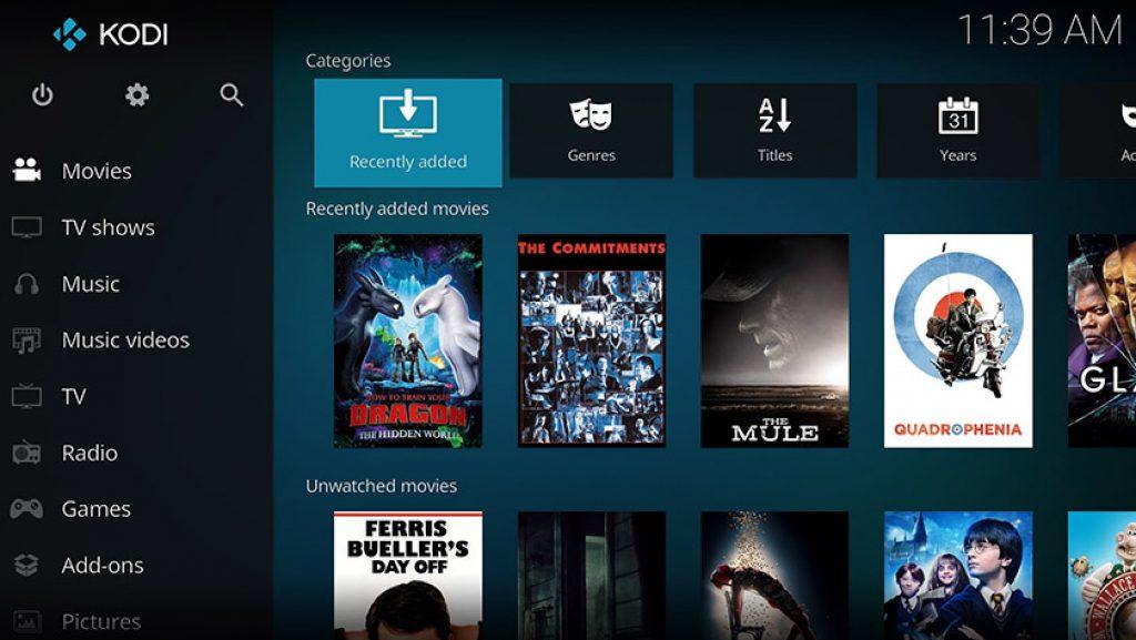kodi movies