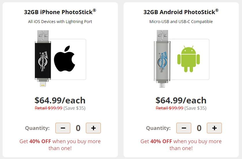 precio de photostick mobile