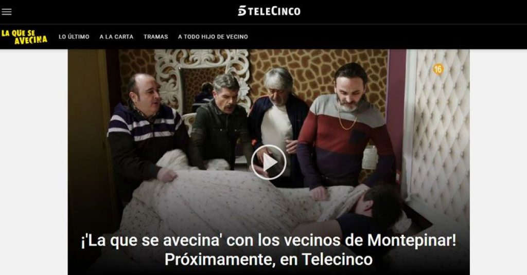 watch telecinco from abroad and see what is coming from outside Spain