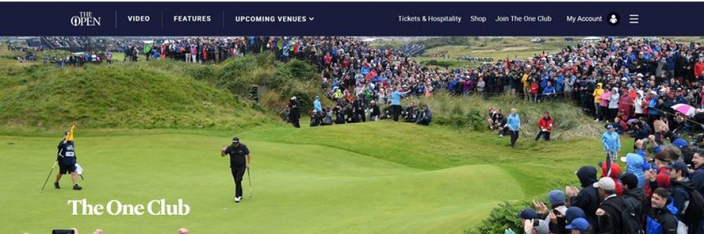 abierto británico de golf