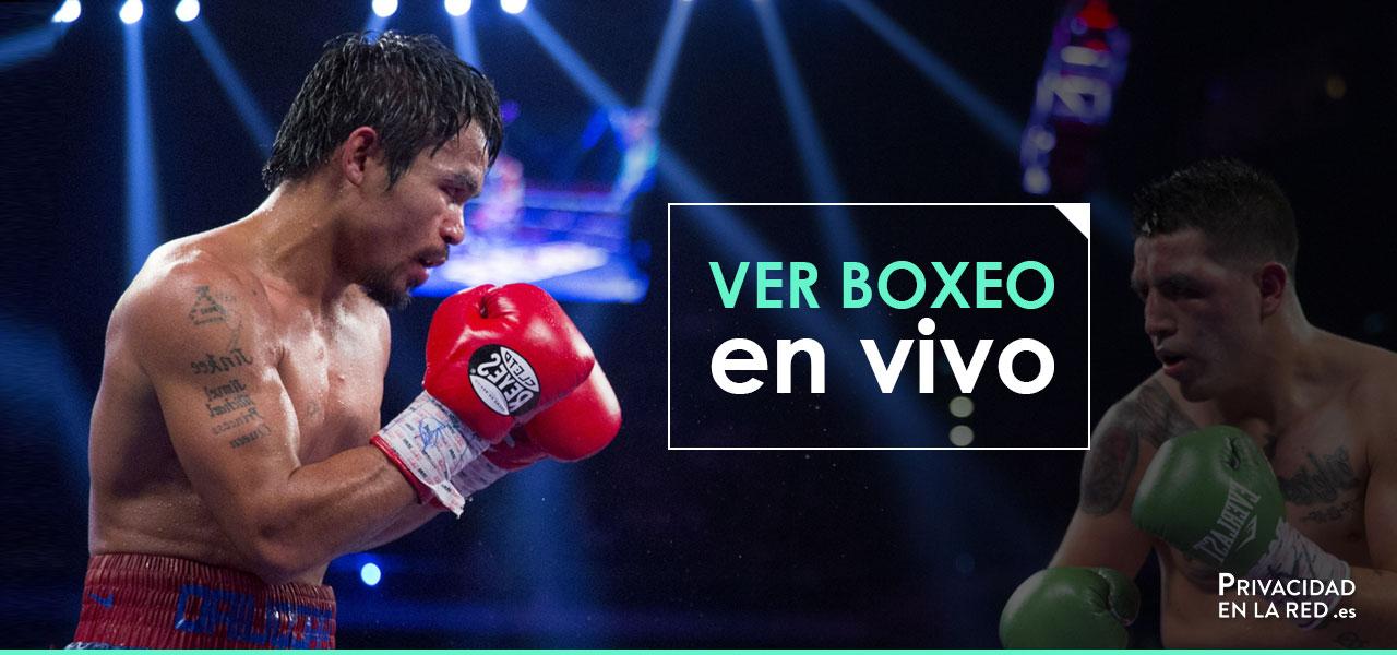 ver boxeo en vivo online gratis